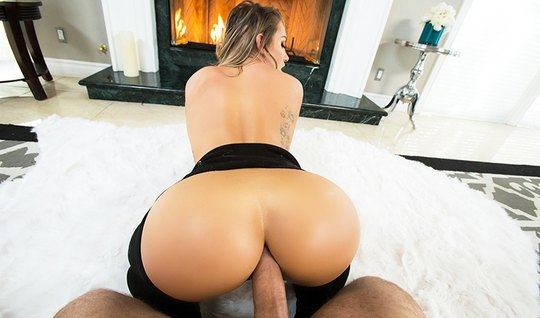 Girl fucks huge dick